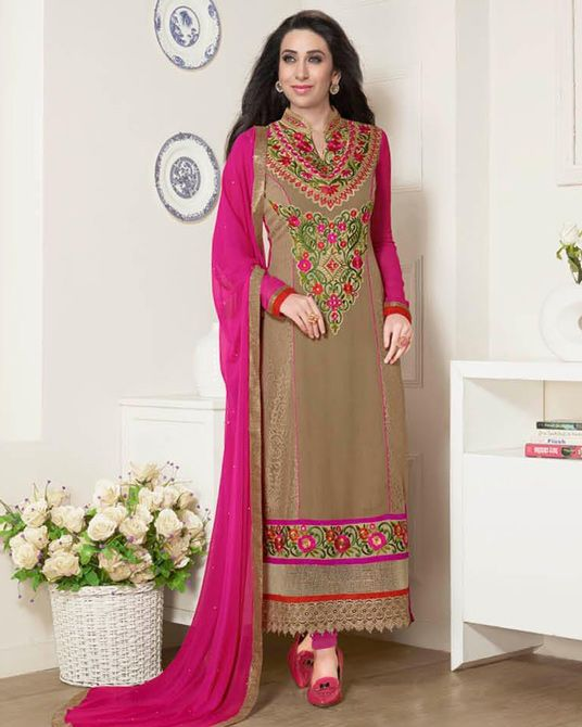Latest Indian Designer Churidar Suits Salwar Kameez Collection 2015-2016 (1)
