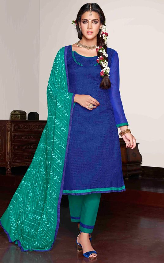 Latest Indian Designer Churidar Suits Salwar Kameez Collection 2015-2016 (11)