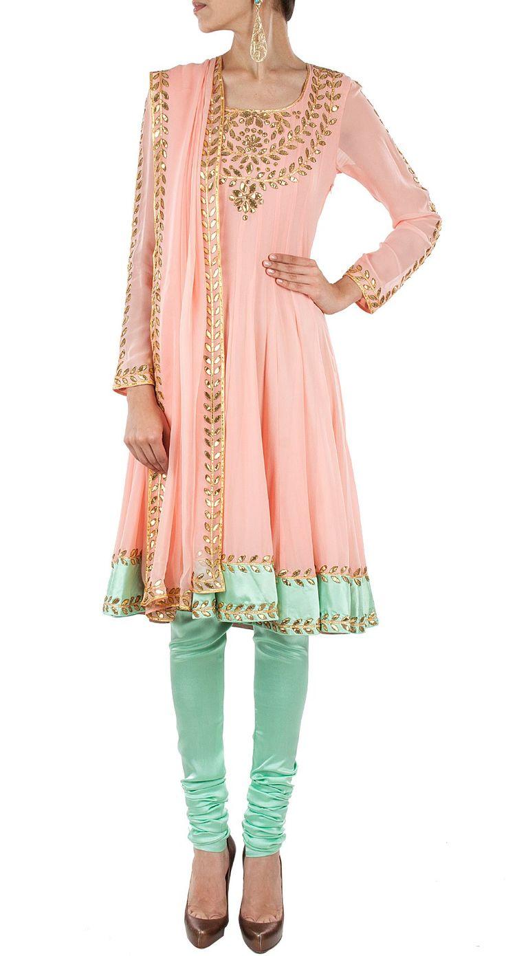 Latest Indian Designer Churidar Suits Salwar Kameez Collection 2015-2016 (12)