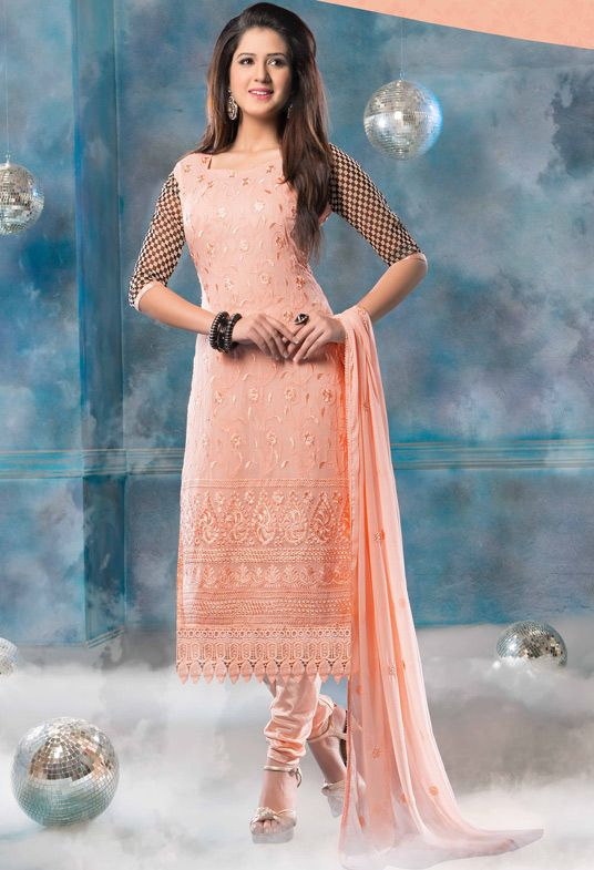 Latest Indian Designer Churidar Suits Salwar Kameez Collection 2015-2016 (14)