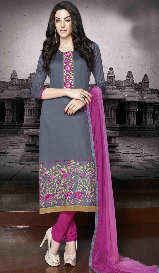 Latest Indian Designer Churidar Suits Salwar Kameez Collection 2015-2016 (15)