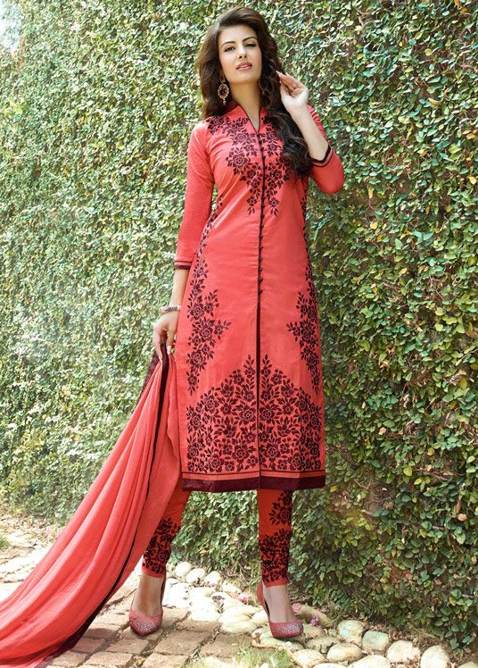 Latest Indian Designer Churidar Suits Salwar Kameez Collection 2015-2016 (16)