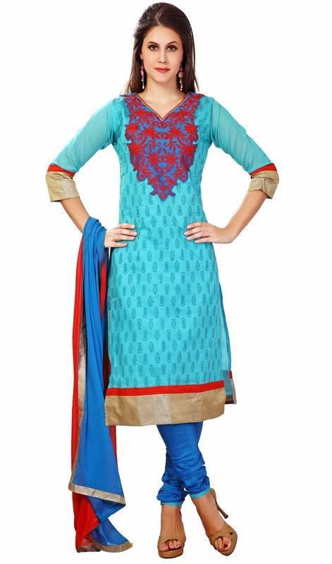 Latest Indian Designer Churidar Suits Salwar Kameez Collection 2015-2016 (24)
