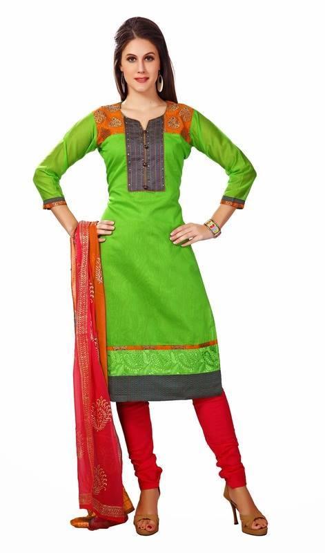 Latest Indian Designer Churidar Suits Salwar Kameez Collection 2015-2016 (32)