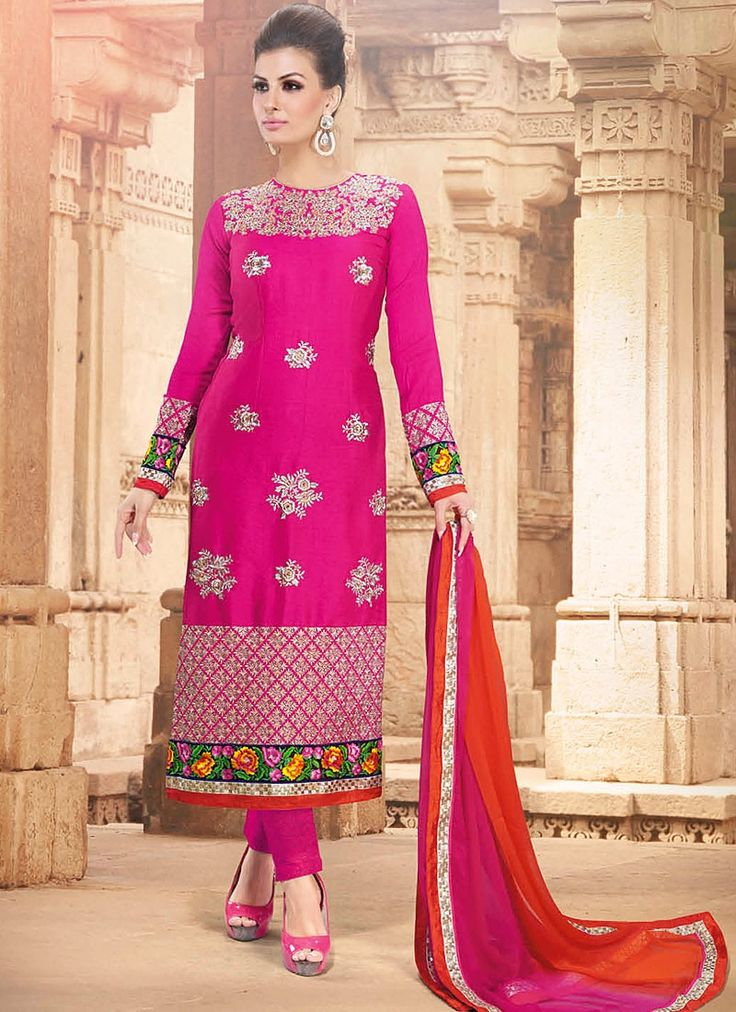 Latest Indian Designer Churidar Suits Salwar Kameez Collection 2015-2016 (5)