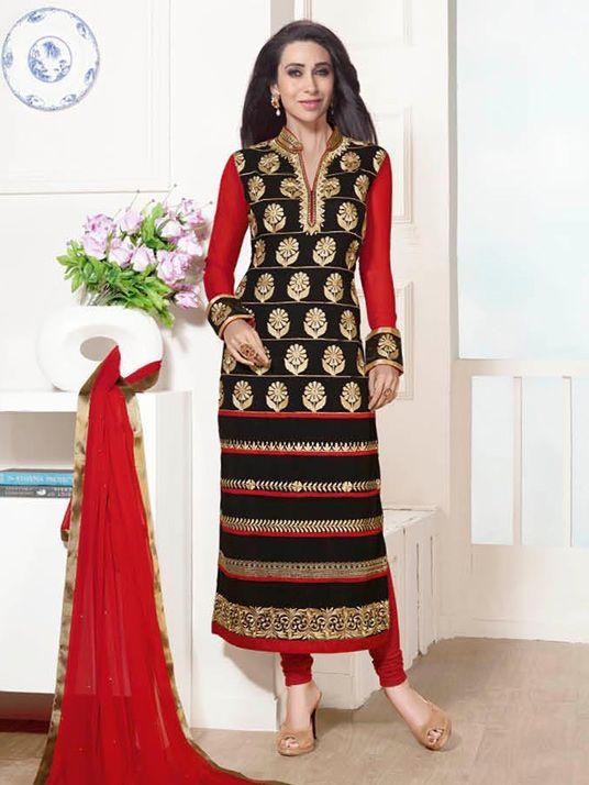 Latest Indian Designer Churidar Suits Salwar Kameez Collection 2015-2016 (8)