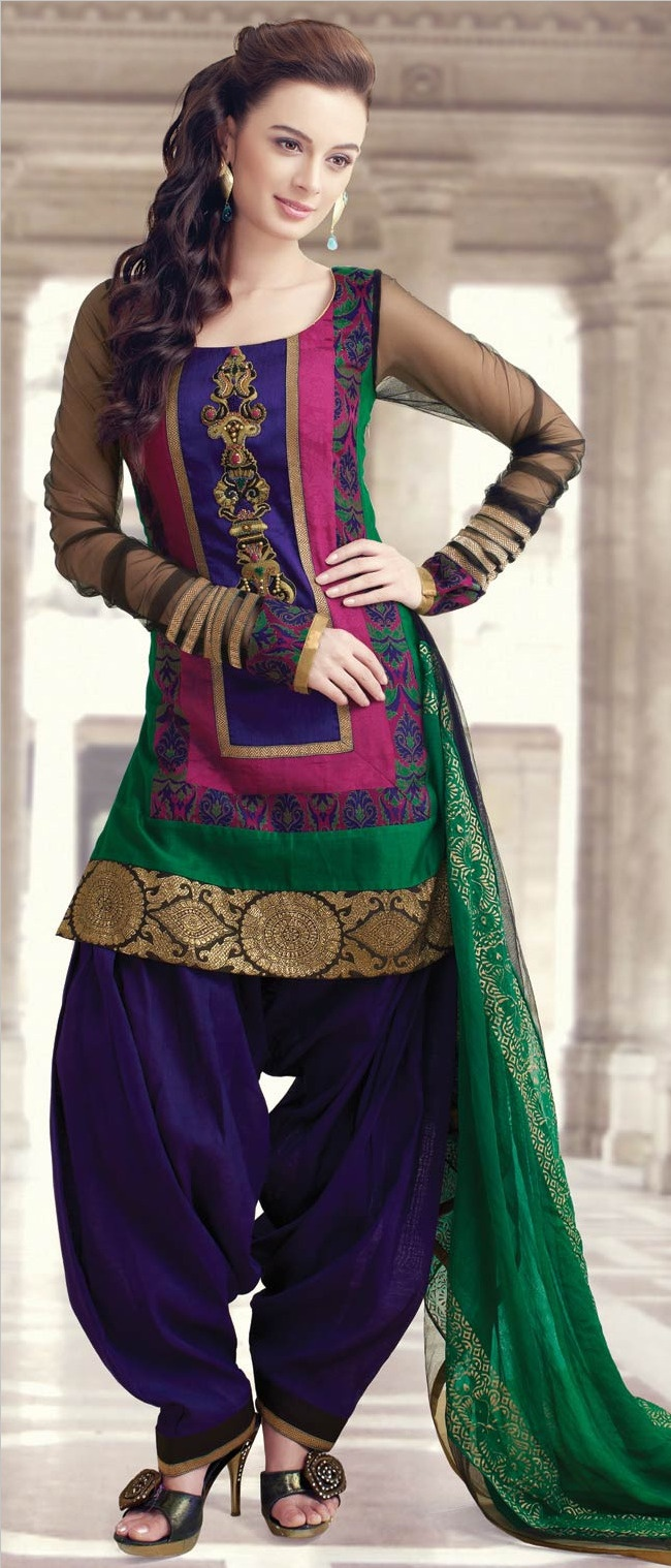 Latest Indian Patiala shalwar kameez fashion 2015-2016 (6)
