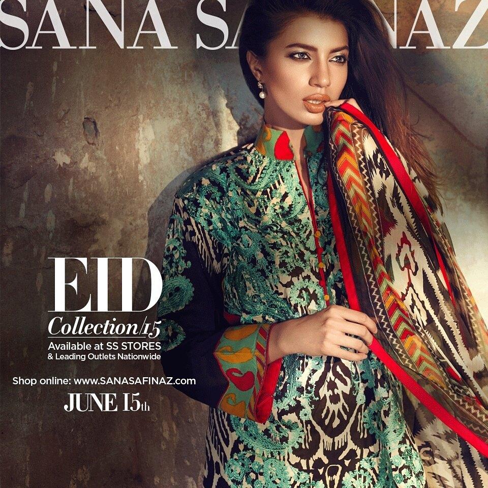 Sana Safinaz Latest Best Women Eid Dresses Collection 2015-2016 (19)