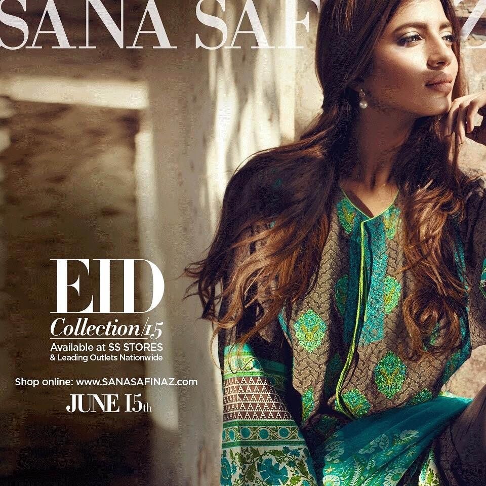Sana Safinaz Latest Best Women Eid Dresses Collection 2015-2016 (22)