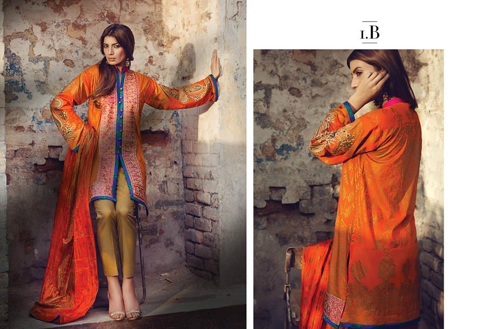 Sana Safinaz Latest Best Women Eid Dresses Collection 2015-2016 (5)