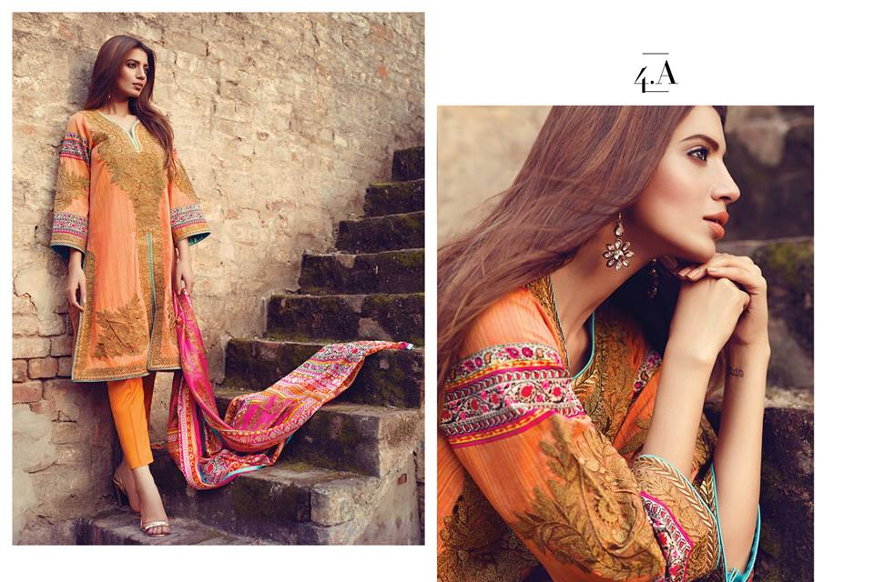 Sana Safinaz Latest Best Women Eid Dresses Collection 2015-2016 (9)