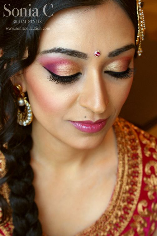 ... indian bridal makeup looks (10) ...