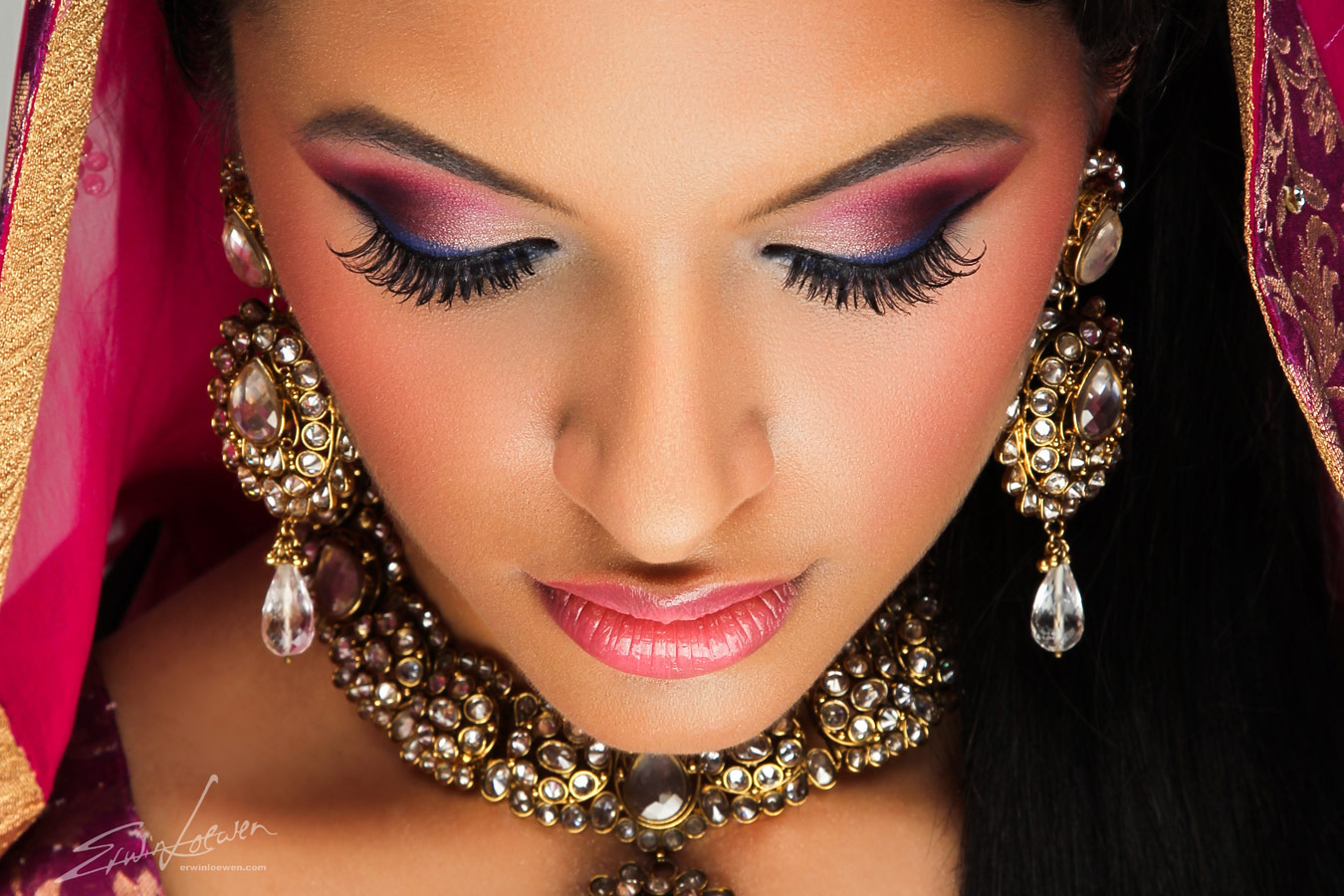 indian bridal makeup tutorial (2)