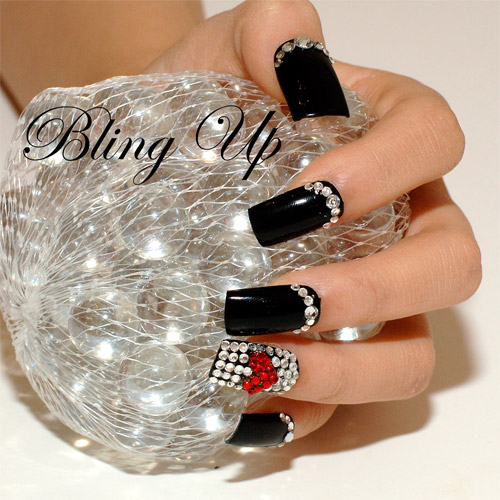 Best & Amazing Rhinestone Nail Arts (4)