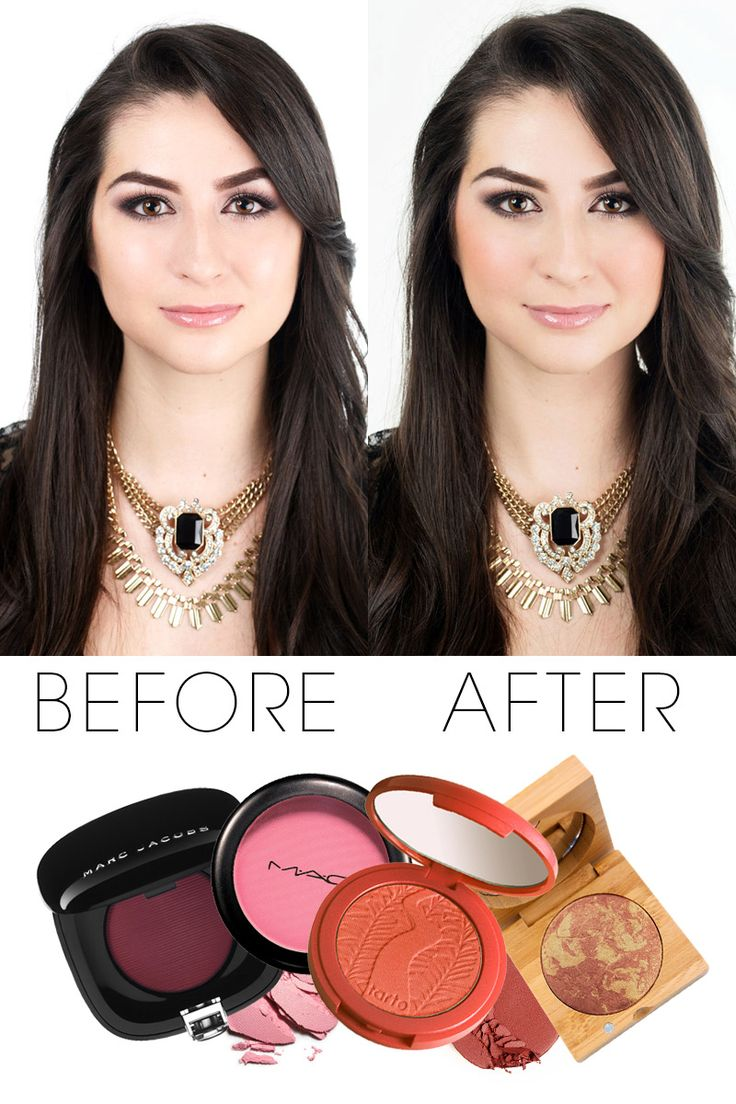 How to apply blush step by step tutorial (22)