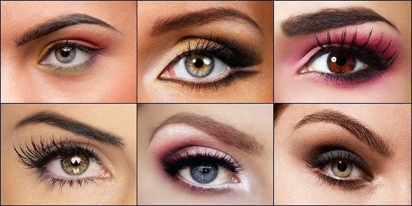 Eyebrows having different shapes & types