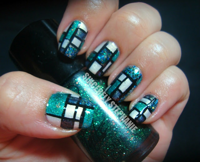 Stained Glass Nail Art (2)