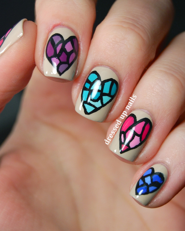 Stained Glass Nail Art (4)
