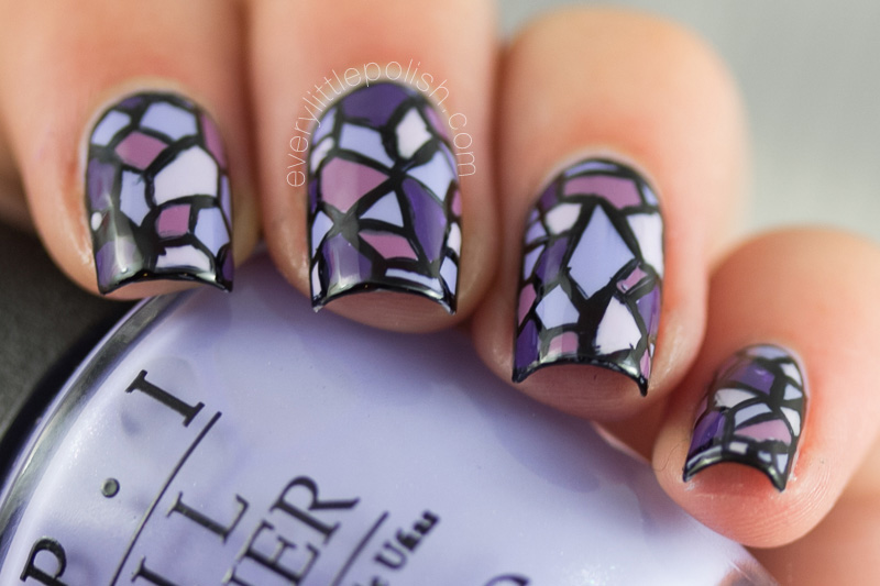 Stained Glass Nail Art (7)