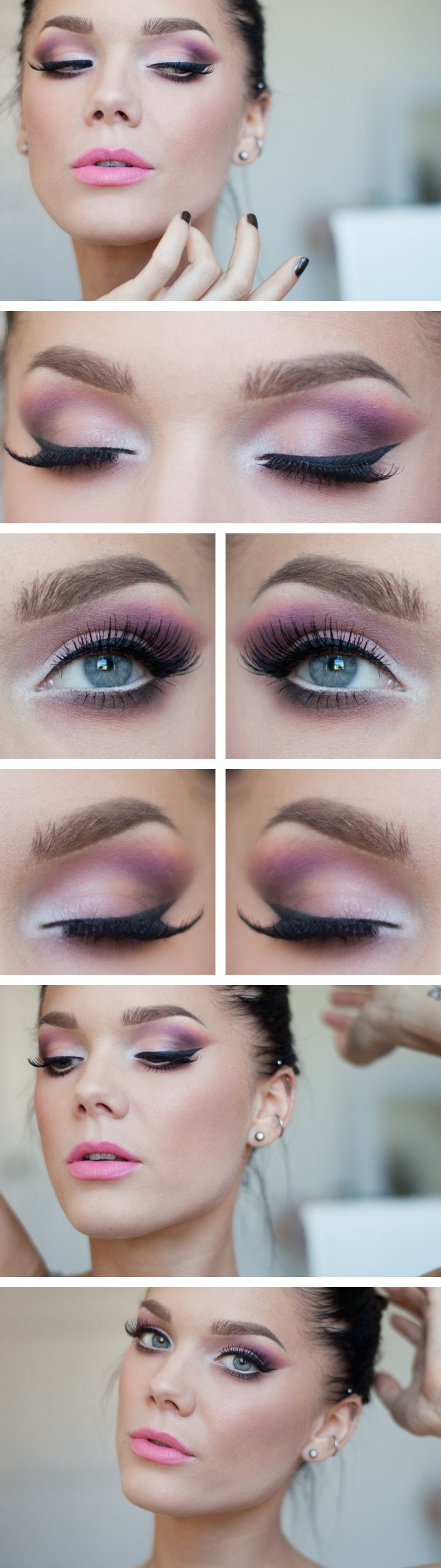 gorgeous pastel makeup looks (1)