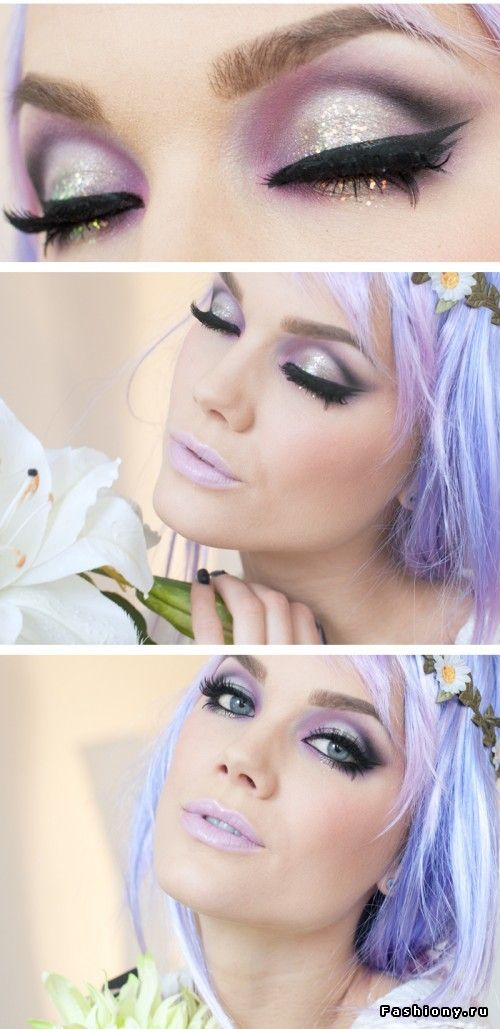 gorgeous pastel makeup looks (5)