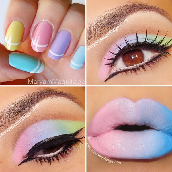 how to create pastel eyes & lips (2)