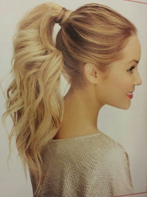 latest ponytail hairstyles for long hairs (10)