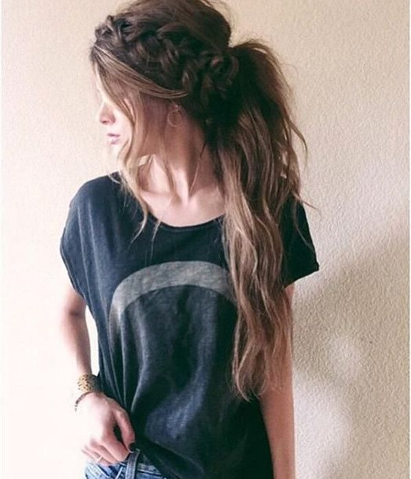 latest ponytail hairstyles for long hairs (22)