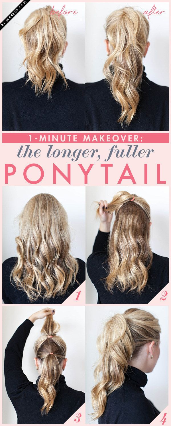best ponytail hairstyles for long, medium & short hairs