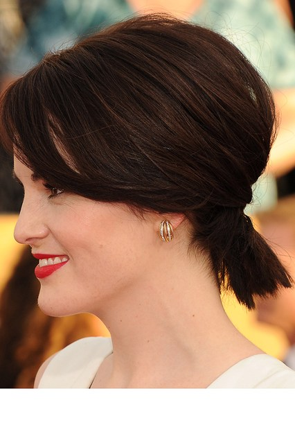 latest ponytail hairstyles for short hairs (5)