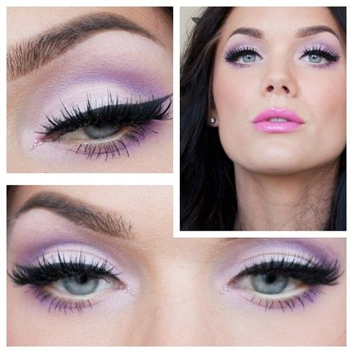 step by step pastel makeup for eyes (5)