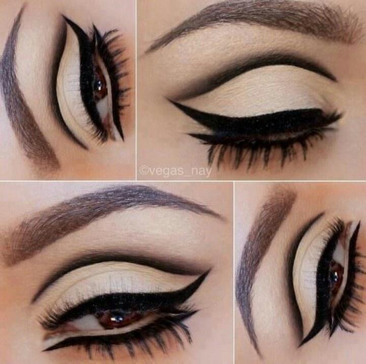 60-tallet Eyeliner-stiler med opplæring (1)