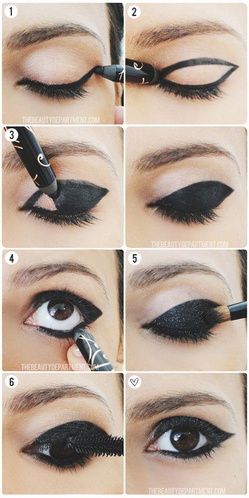 60-tallet Eyeliner-stiler med opplæring (2)