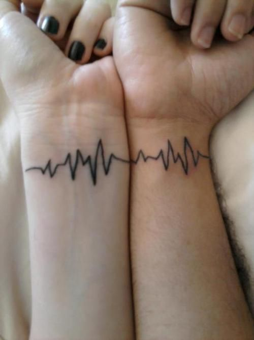 Cute Tattoo Design Ideas For Couples Matching with Meanings (13)