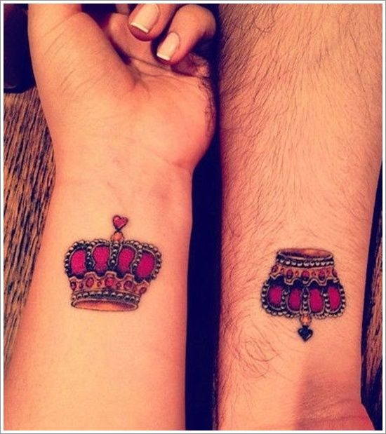 Cute Tattoo Design Ideas For Couples Matching with Meanings (14)