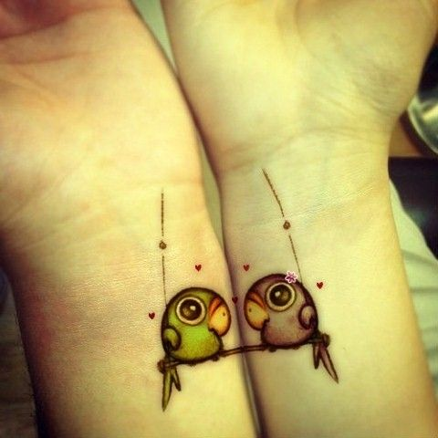 Cute Tattoo Design Ideas For Couples Matching with Meanings (15)