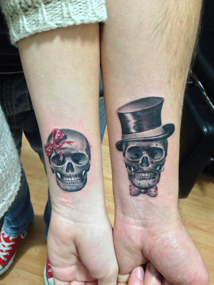 Cute Tattoo Design Ideas For Couples Matching with Meanings (3)