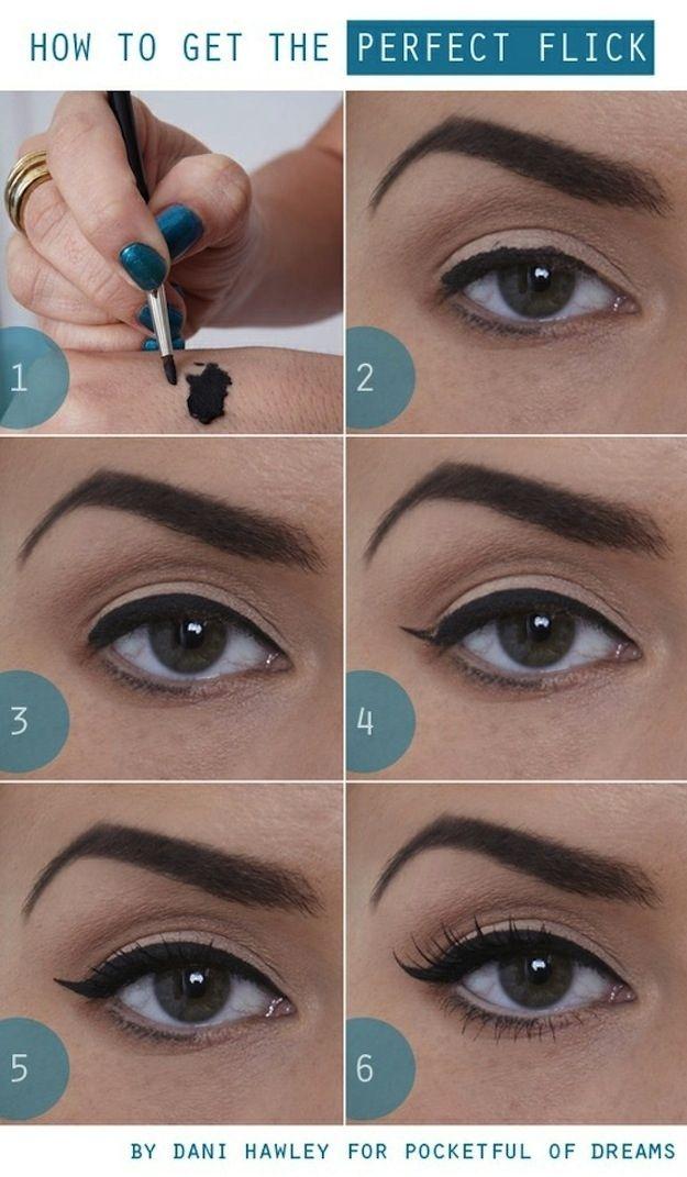 Flick eyeliner styles (2)