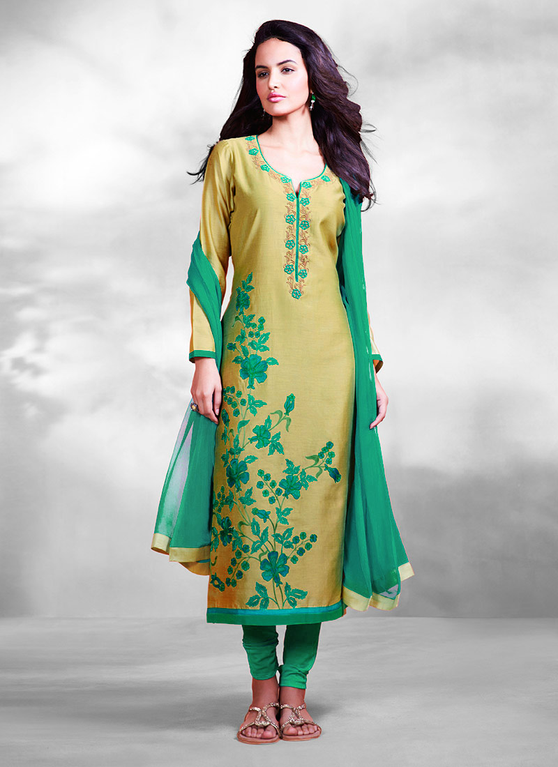 Indian Party Wears Salwar Kameez Collection 2015-2016 (11)