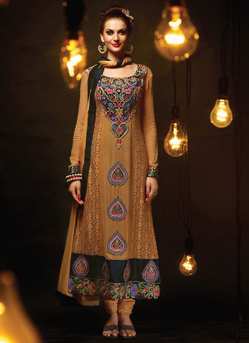 Indian Party Wears Salwar Kameez Collection 2015-2016 (19)