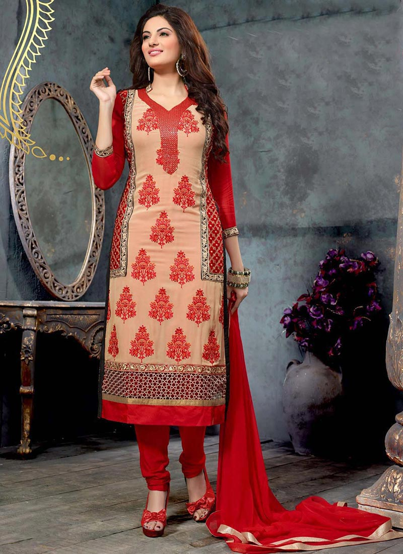 Indian Party Wears Salwar Kameez Collection 2015-2016 (23)