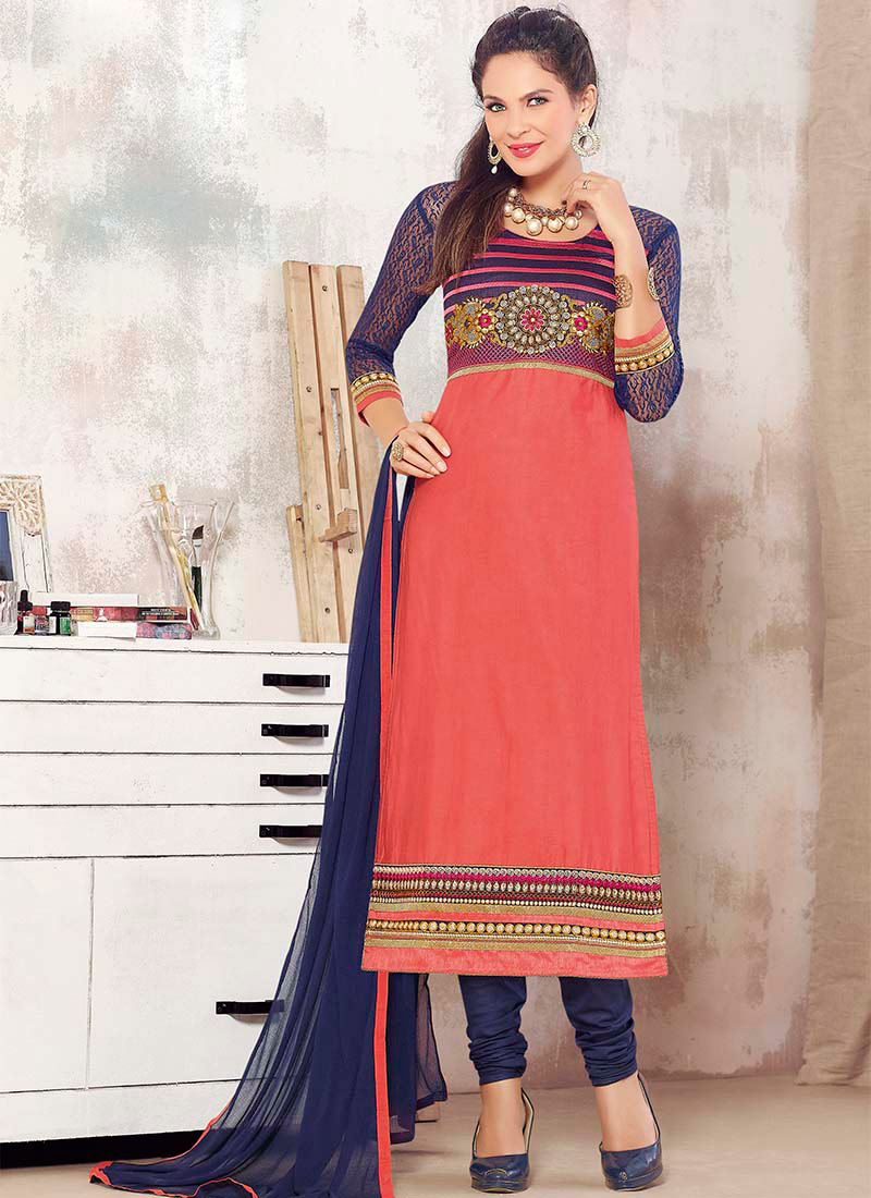 Indian Party Wears Salwar Kameez Collection 2015-2016 (27)