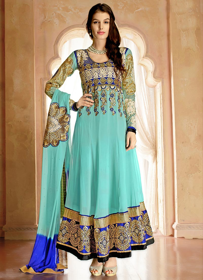 Indian Party Wears Salwar Kameez Collection 2015-2016 (30)