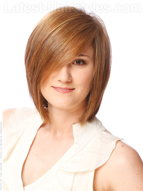 Latest Bob Hairstyles for Long & Short Hairs 2015-2016 (9)