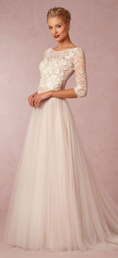 Latest Western Wedding Dresses & Gowns Collection 2015-2016 (24)