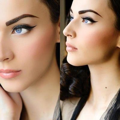 Retro Vintage eyeliner styles tutorial (3)