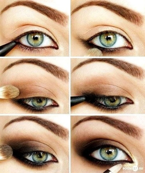Smudged Eyeliner styles tutorial (1)