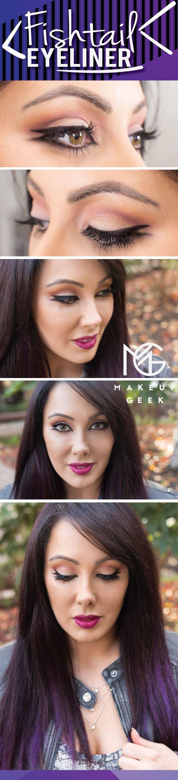 fishtail eyeliner styles tutorial (1)
