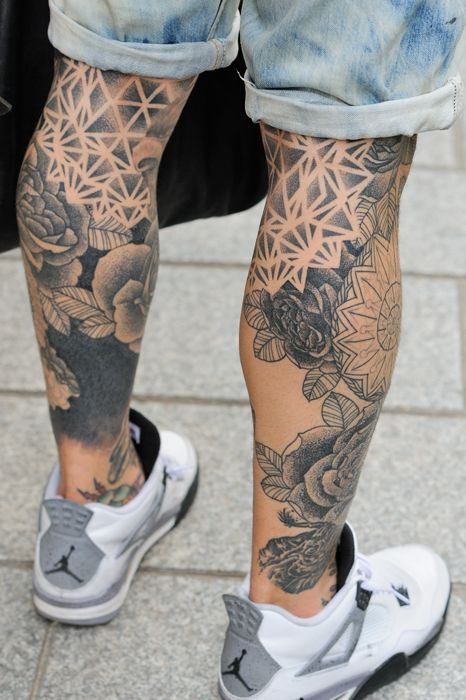 leg Tattoos Design Ideas & Trends