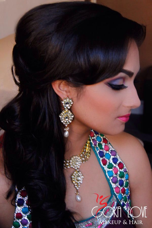 Indian Wedding Hairstyle Trends 2016-2017 for Bridals (1)
